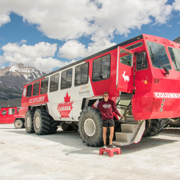 Columbia Icefield Discovery Centre & Explorer - Athabasca Glacier